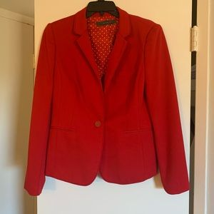 EUC! The Limited red blazer
